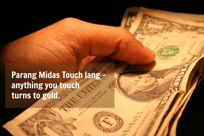 Jun 22 - Midas touch